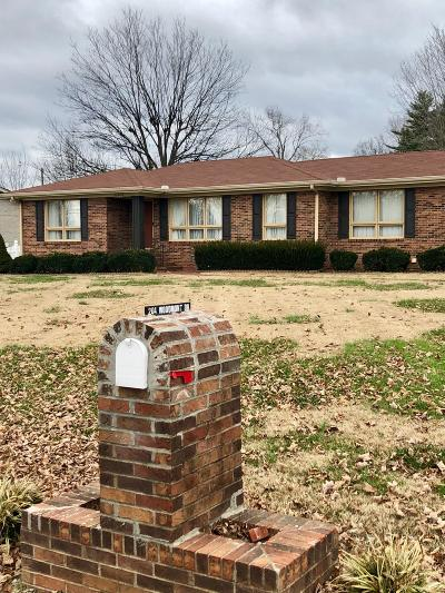 Shelbyville Single Family Home For Sale: 204 Woodmont Drive