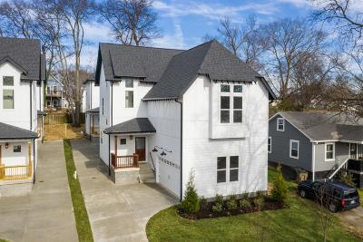 Nashville Single Family Home For Sale: 514 A Moore Ave
