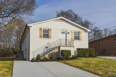 Nashville Single Family Home For Sale: 3512 Slate Dr