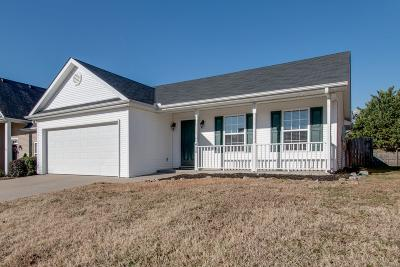 Rutherford County Single Family Home Under Contract - Showing: 450 Tulane Ct
