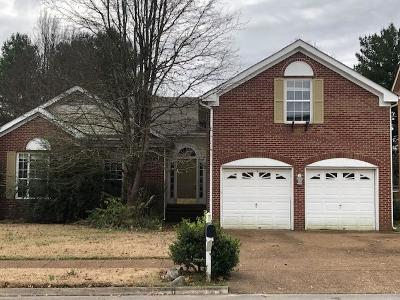 Franklin TN Single Family Home For Sale: $249,900