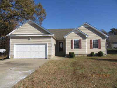 Clarksville TN Single Family Home For Sale: $129,500