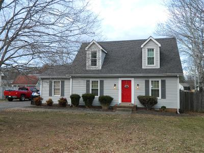 Rutherford County Single Family Home Under Contract - Showing: 1230 Myers Dr