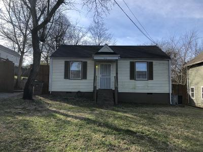 Nashville Single Family Home For Sale: 926 Strouse Ave