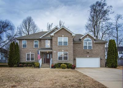 Clarksville Single Family Home For Sale: 2478 Hattington Drive