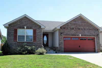 Clarksville Rental For Rent: 830 Shelton Circle