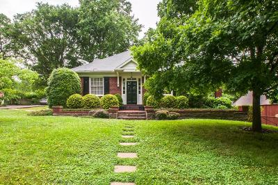 Nashville Single Family Home For Sale: 2815 22nd Ave S