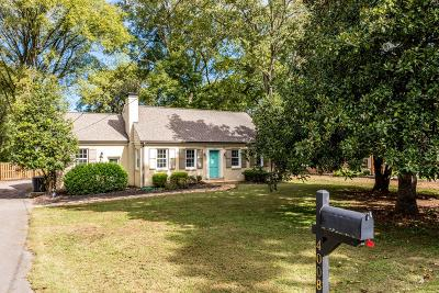Green Hills Single Family Home Under Contract - Showing: 4008 Auburn Ln
