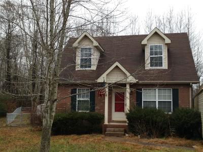 Clarksville TN Single Family Home Under Contract - Not Showing: $67,500