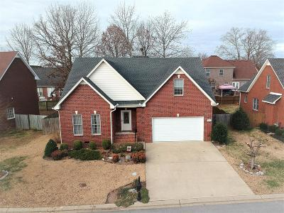 Murfreesboro Single Family Home For Sale: 407 Carmel Dr