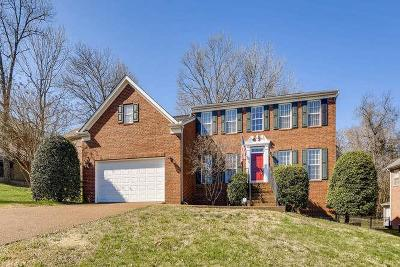Brentwood Single Family Home For Sale: 1225 Buckhead Dr