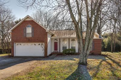 Sumner County Single Family Home For Sale: 1213 Brockton Ct