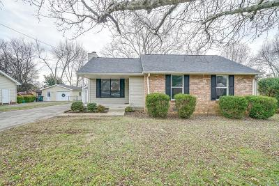 Sumner County Single Family Home For Sale: 324 Raindrop Ln