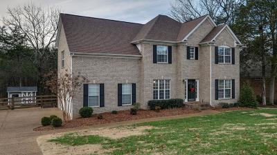 Nolensville Single Family Home For Sale: 321 Baronswood Dr
