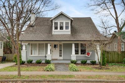 Nashville Rental For Rent: 1503 Paris
