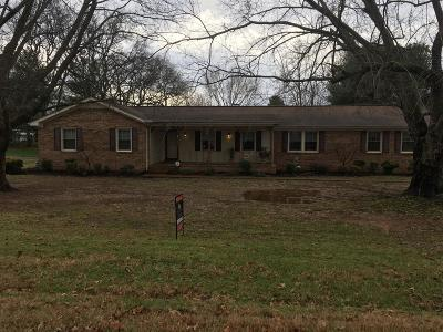 Murfreesboro Single Family Home For Sale: 185 Amherst Dr