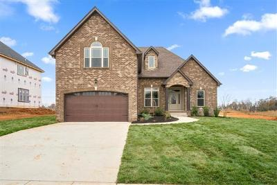 Clarksville Single Family Home Active Under Contract: 3520 Clover Hill Dr