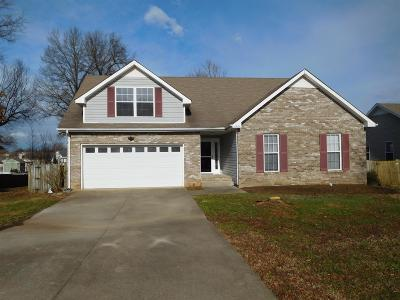 Clarksville Rental For Rent: 4064 New Grange Cir