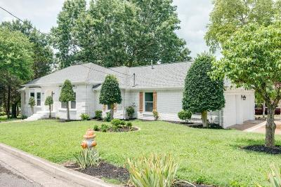 Nashville Single Family Home For Sale: 101 Bluefield Sq