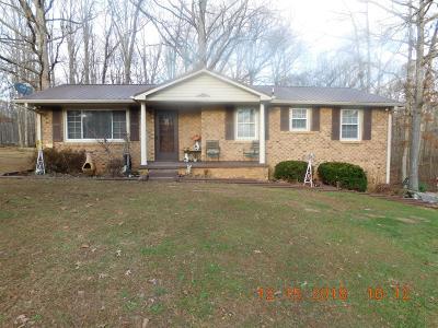 Bon Aqua Single Family Home For Sale: 660 N Davidson Rd