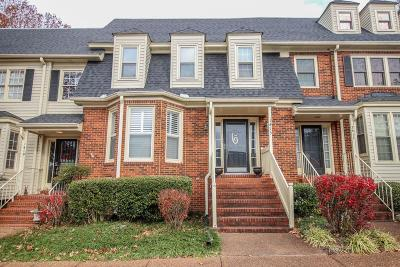 Murfreesboro Condo/Townhouse For Sale: 1415 Cambridge Dr #1415