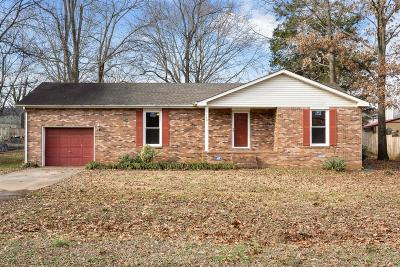 Clarksville Single Family Home For Sale: 1140 Peachers Mill Rd