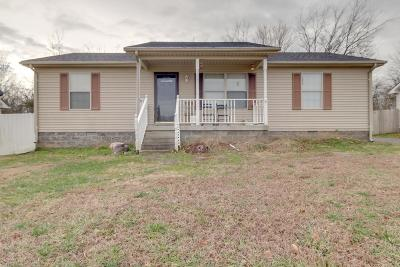 Robertson County Single Family Home Under Contract - Not Showing: 132 Greystone Dr