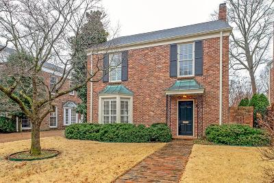 Davidson County Single Family Home For Sale: 5 Peach Blossom Sq