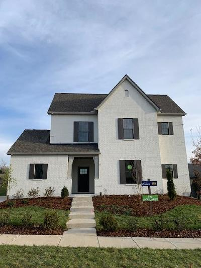 Mount Juliet Single Family Home For Sale: 769 Plowson Road #357
