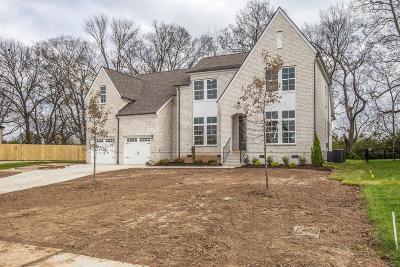 Williamson County Single Family Home For Sale: 714 Rain Meadow Ct Lot 255