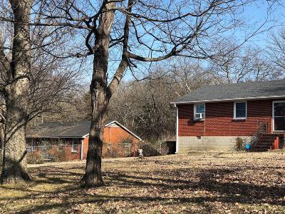 Davidson County Single Family Home For Sale: 3041 Hillside Rd
