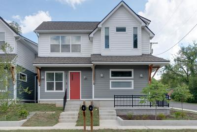 East Nashville Single Family Home For Sale: 1901 Meridian Ave B