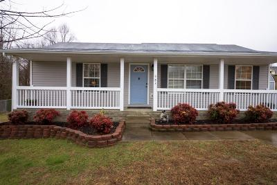 Clarksville TN Single Family Home For Sale: $131,900