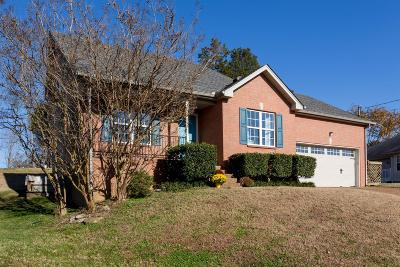 Wilson County Single Family Home Under Contract - Showing: 3602 Sussex Ct