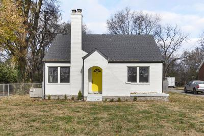 Nashville Single Family Home For Sale: 109 Lorraine Ave