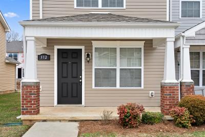 Clarksville Single Family Home Under Contract - Showing: 312 Sam Houston Cir