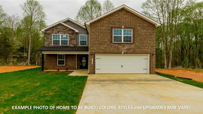 Clarksville Single Family Home Under Contract - Showing: 1257 Gentry Drive (Lot 125)