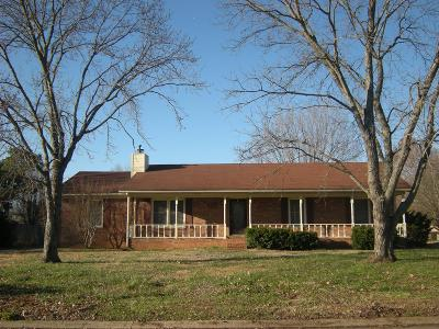 Murfreesboro TN Single Family Home For Sale: $205,000
