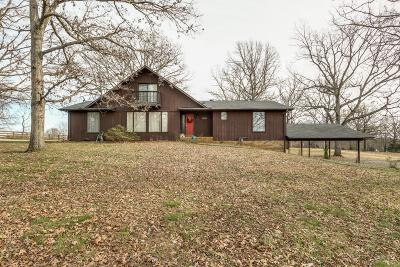 Dickson Single Family Home For Sale: 1090 Pond Switch Rd