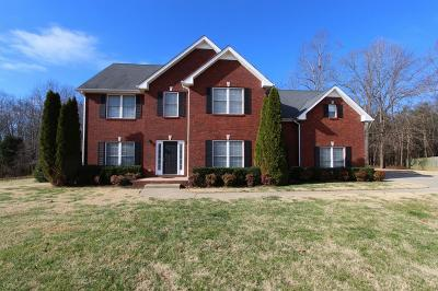 Clarksville Single Family Home Under Contract - Not Showing: 3347 Sheffield Way