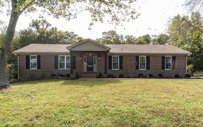 Hendersonville Single Family Home Under Contract - Not Showing: 138 Choctaw Dr
