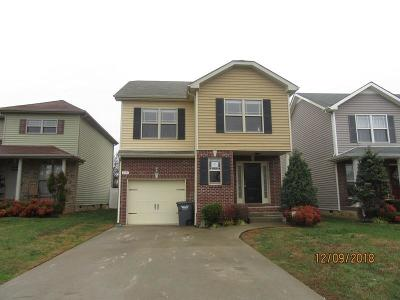 Christian County, Ky, Todd County, Ky, Montgomery County Single Family Home Under Contract - Not Showing: 3791 Harvest Rdg