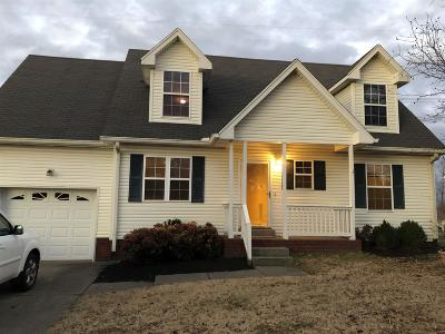 Robertson County Single Family Home Under Contract - Showing: 4202 Turners Bnd
