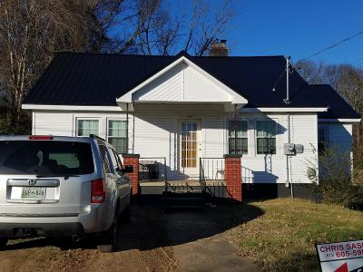 Clarksville Single Family Home Under Contract - Not Showing: 1017 Stafford St