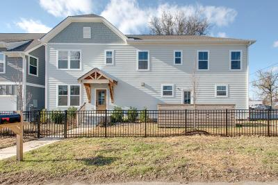 Nashville Single Family Home Under Contract - Showing: 1603 N 62nd Ave