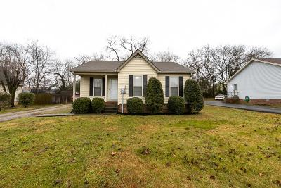 Lebanon Single Family Home Under Contract - Showing: 1317 Raden Dr