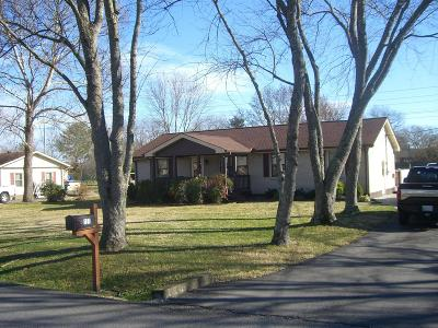 Smyrna Single Family Home Under Contract - Not Showing: 121 Steve Roberts Dr