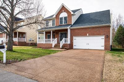 Franklin Single Family Home Under Contract - Not Showing: 1413 Clairmonte Cir