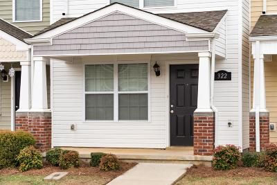Clarksville Single Family Home Under Contract - Showing: 322 Sam Houston Cir