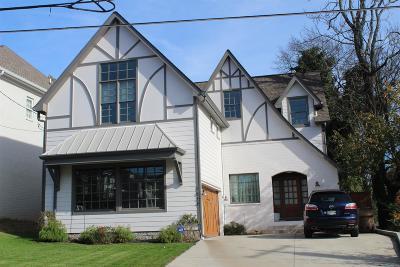 Nashville Single Family Home For Sale: 3815 Burrus St